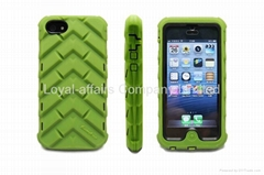 Rugged iPHONE 5 case GUMDROP 'DROP TECH' Series mobile phone case