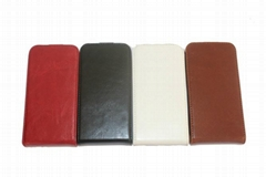 protective leather case for iphone 4/4s