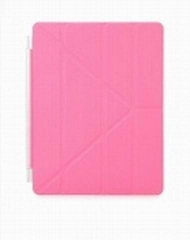 Protective Auto Wake-up  Sleep PU Leather Smart Cover  for iPad 2 / New Ipad