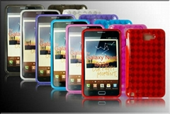 Protective silicone case for  samsung galaxy note i9220