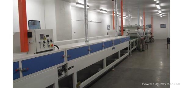 傢具板UV塗裝生產線. 1