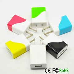 MFI ETL FCC Rohs mobile phone charger for iPhone and Samsung