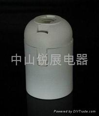 E27塑料插線式燈頭