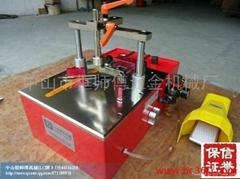 相框氣動臺式KSF-10A調模型釘角機廠家直銷