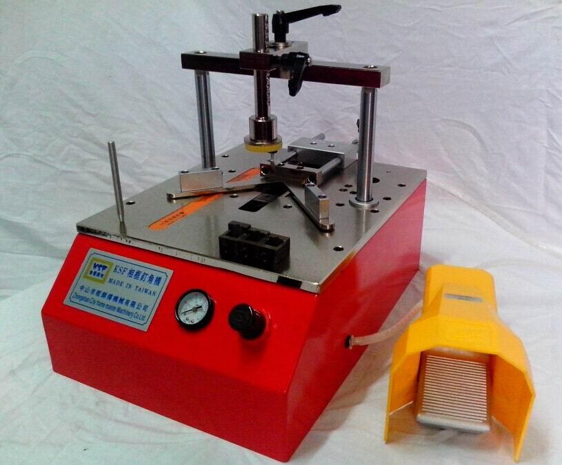 廣東相框畫框臺式小型釘角機工廠大量生產直銷 2