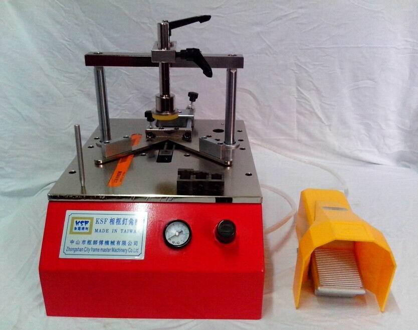 廣東相框畫框臺式小型釘角機工廠大量生產直銷 3