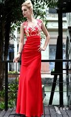 Dorisqueen mermaid sweetheart high collar floor length satin evening dresses