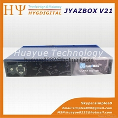 Jyazbox Ultra HD V21 FTA Digital Satellite TV Receiver With JYNXBOX ULTRA HD V21