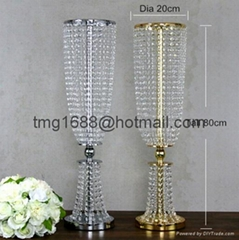CM-1054-80 Wedding Centerpieces Acrylic Crystal Flower Stand (Size:80*20)