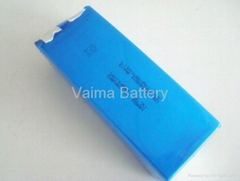 3.7V55Ah lipo battery pack with 5C discharge rate