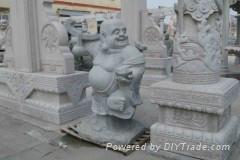 布袋佛雕塑