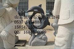 動物雕塑海豚藝朮體