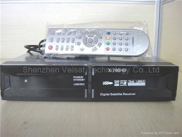 DVB-S2 HD H.264 / MPEG-4 satellite receiver 1