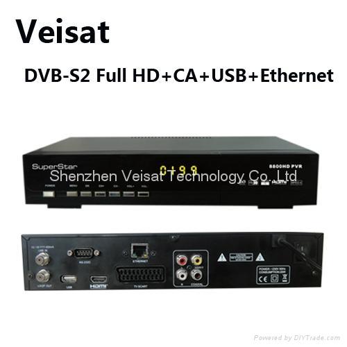 mpeg-4 satellite sharing receiver HD dvb-s2
