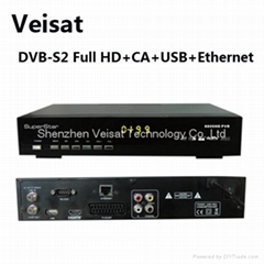 mpeg-4 satellite sharing receiver HD dvb-s2
