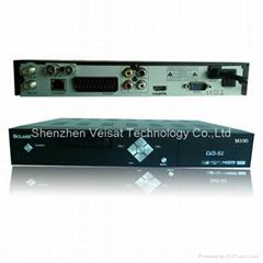 DVB-S2 1080i sharing receiver