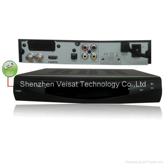 DVB-S2 FTA HD DECODER with powervu support