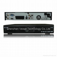 digital satellite receiver support mpeg-4 set top box with CA