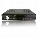 Digital satellite receiver with full hd