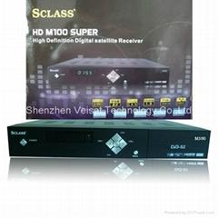 sclass m100 HD MPEG4 H.264 DVB-S2 STB