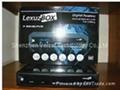 lexuz box F90 and Probox P100 cable tv