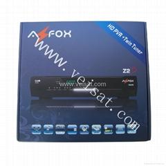 AZFOX Z2S HD 雙TUNER共享N3 衛星接收機原廠現貨供應