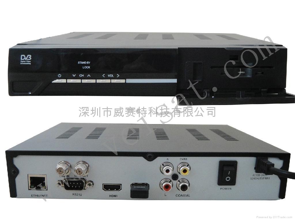 中东高清卫星接收机带LAN网络共享 1