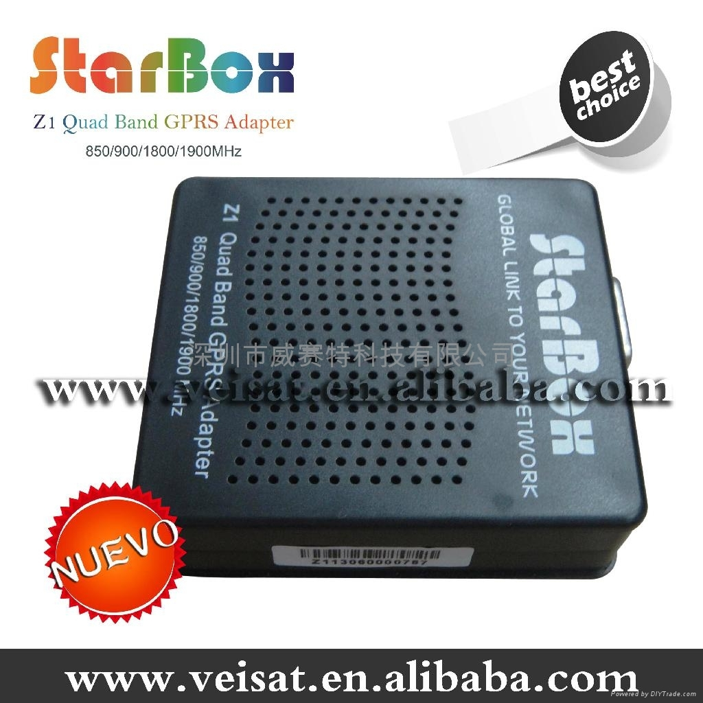 Starbox Z1 Quad Band GPRS 南美市场