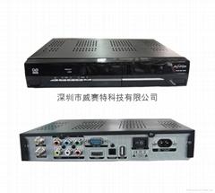 DVB-S2X 高清数字卫星电视接收机