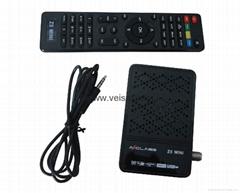 OEM MINI DVB-S2 卫星接收机带IPTV 国内共享