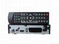 European digital satellite receiver