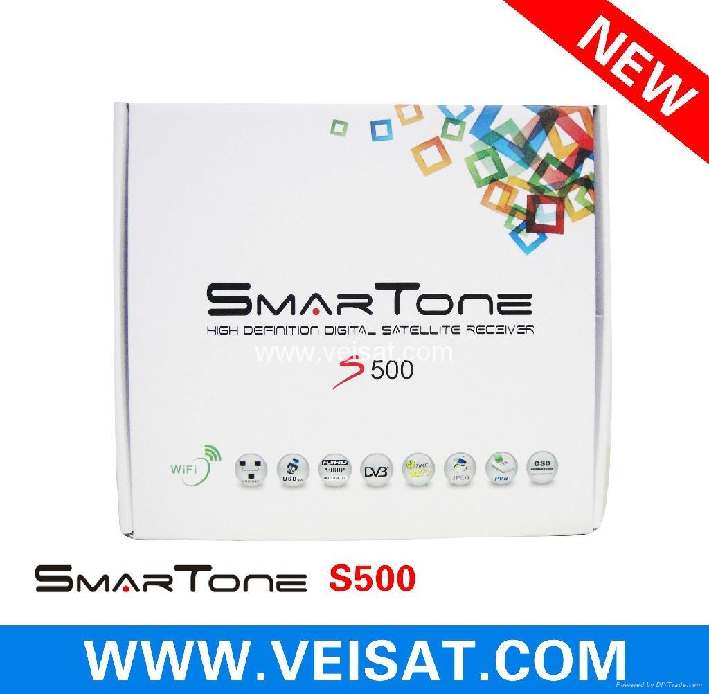 Twin Turner satellite receiver IKS SKS Free Smartone S500 1