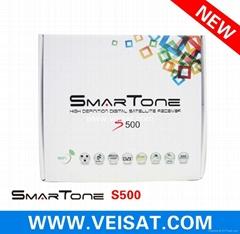 拉丁美洲新款高清接收机IKS&SKS免费N3节目SMARTONE S500