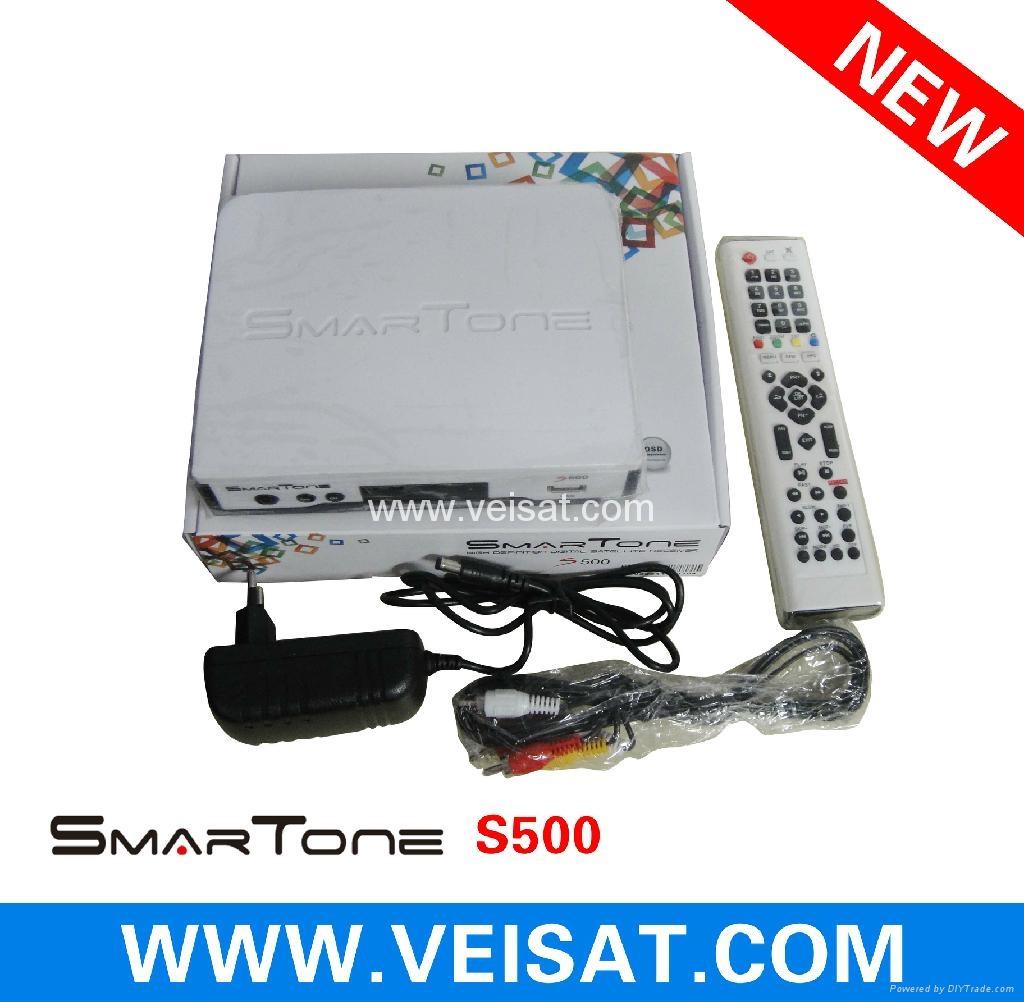 Twin Turner satellite receiver IKS SKS Free Smartone S500 2