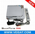 Twin Turner satellite receiver IKS SKS Free Smartone S500
