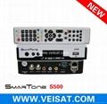 Twin Turner satellite receiver IKS SKS Free Smartone S500
