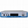 Twin TUNER + Network share HD satellite receiver