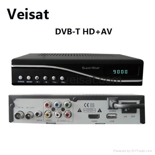 DVB-T2 支持ATSC MPEG-4欧洲市场与中美洲 2