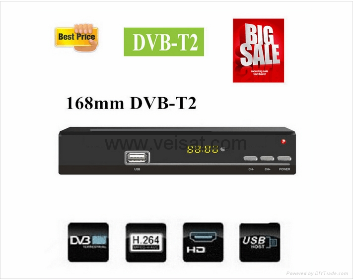 DVB-T2 支持ATSC MPEG-4欧洲市场与中美洲 3