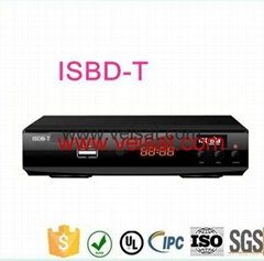 ISDB-T & DVB-T2 support South america