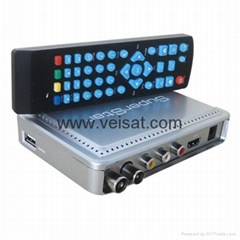 DVB-T2 with AC+DC support iptv for africa market