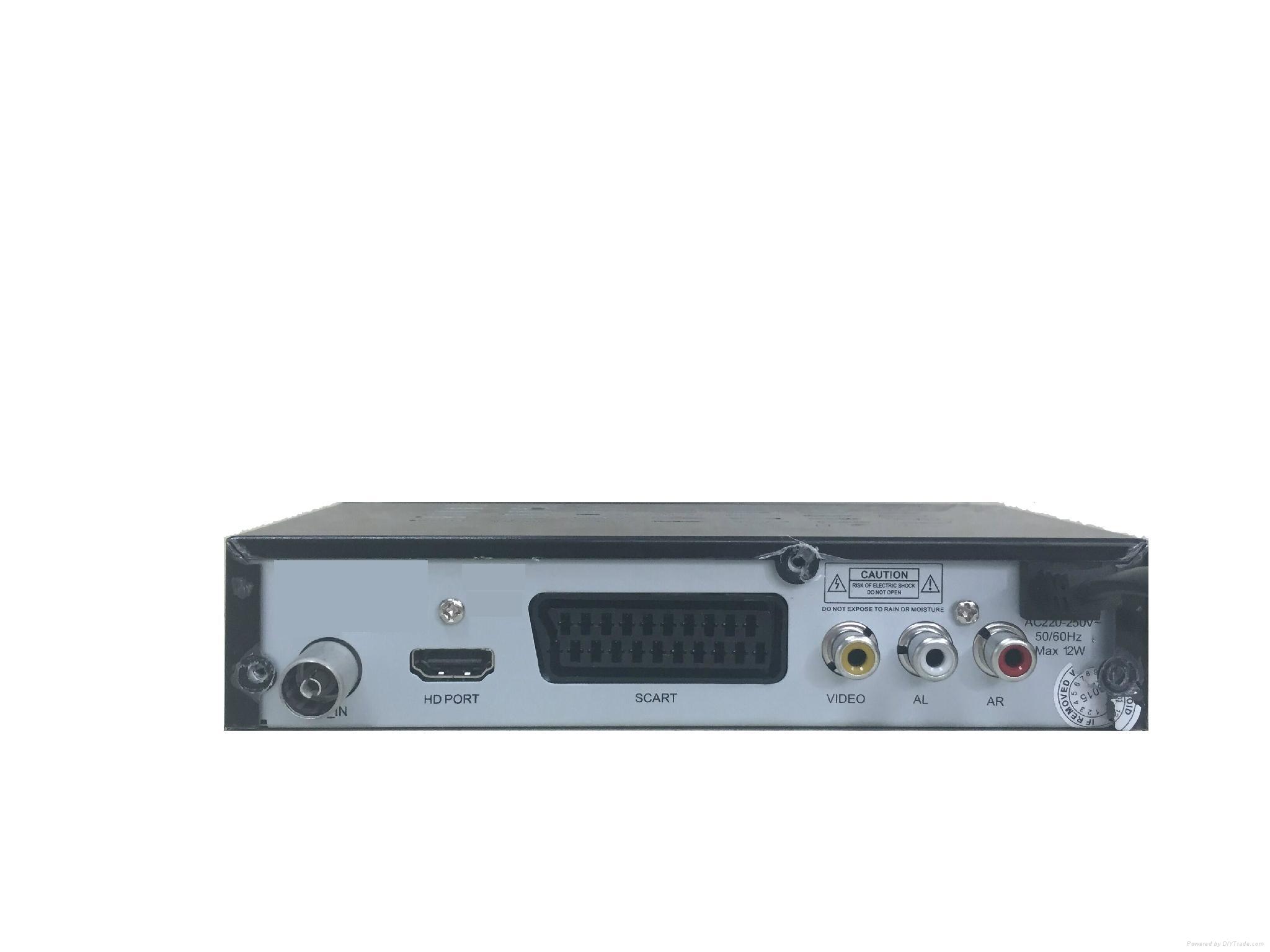 DVB-T / T2 支持H.264 / H.265 HEVC歐洲市場