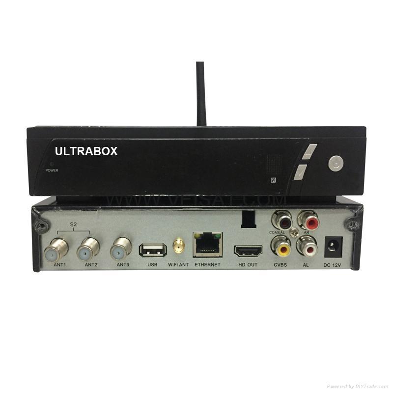 南美市场DVB-S2 & ISDB-T 卫星接收机支持Ultrabox V9 Combo SKS+IKS+ISDB-T 1