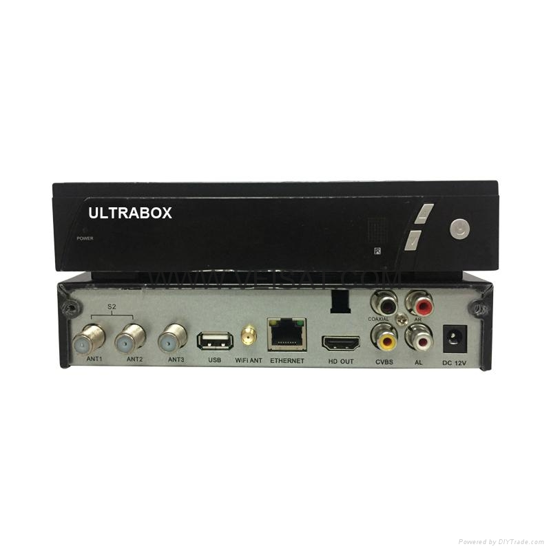 南美市场DVB-S2 & ISDB-T 卫星接收机支持Ultrabox V9 Combo SKS+IKS+ISDB-T 2