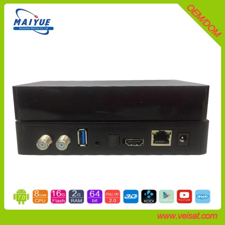 Hicilicon 3798 安卓系統DVB-S2+ISDBT 3