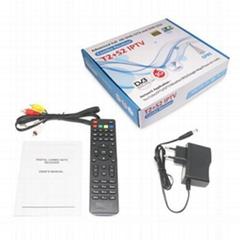 数字卫星接收器DVB-S2+T2 COMBO机顶盒非洲市场