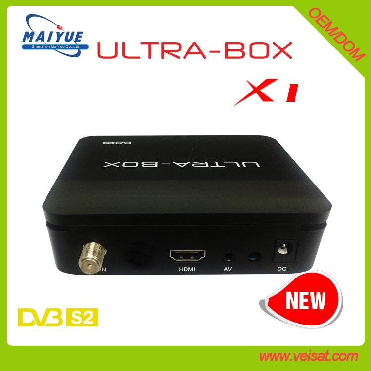 ULTRA-BOX X1 DVB-S2 DIGITAL SATELLITE RECEIVER