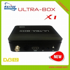 ULTRA-BOX X1 DVB-S2 高清卫星电视接收器