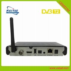 ultra box x3 dvb t2 电视接收机 支持 iptv h.265