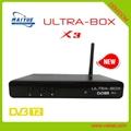 ultra box x3 dvb t2 电视接收机 支持 iptv h.265 2